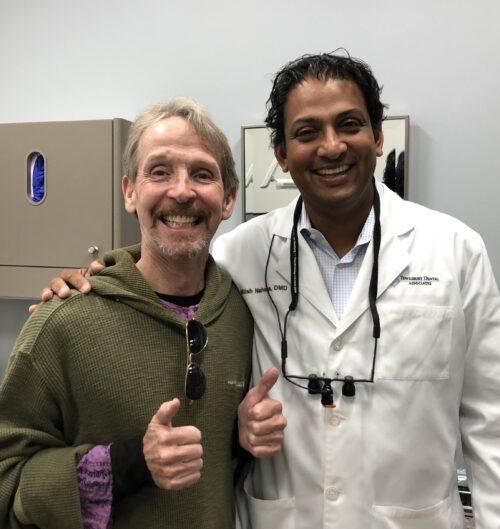 Tewksbury Dental Dentist with patient